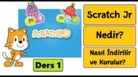 5-7 Yaş Kodlama Uygulaması Scratch Jr ' a Giriş