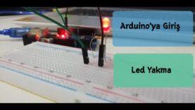 Arduino ile Mblock Kullanarak Led Yakma ve Temel Elektronik