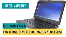 Laptop Fan Temizliği Ve Termal Macun Yenilemesi