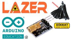 Video URLARDUINO ile LAZER Sensör Kullanımı ❤ (İlkokul Seviyesi)